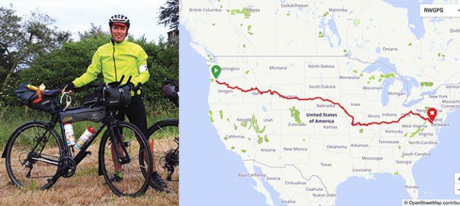La traversée des USA en vélo au bénéficie du Petit vélo jaune !