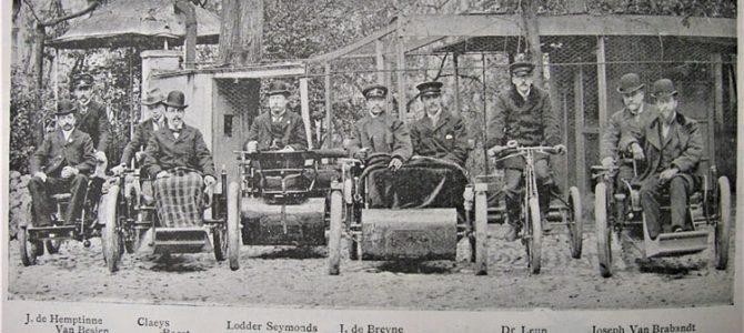 Historicar – Les Hemptinne et leurs voitures au début des années 1900